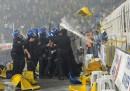 Gli scontri dopo Fenerbahçe-Galatasaray