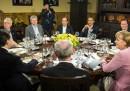 Le prime foto del G8