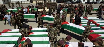 Israele ha consegnato 91 bare alla Palestina