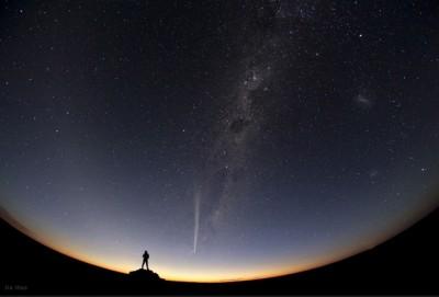 """""""La Cometa Lovejoy sull'Australia"""" - Jia Hao"""