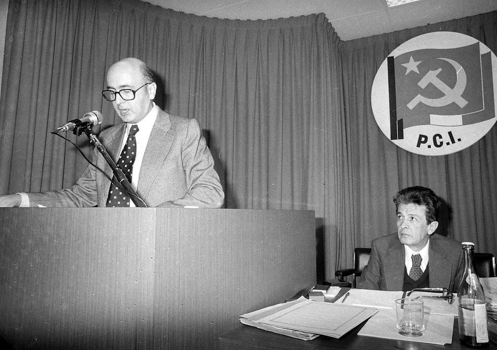 La storia della foto di Benigni e Berlinguer - Il Post