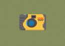 Collezione di macchine fotografiche