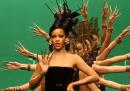 Sul set del nuovo video dei Coldplay e Rihanna