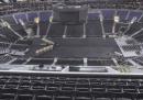 Al palazzetto di Los Angeles il pavimento cambia sei volte in quattro giorni