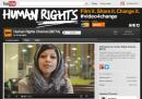 Il canale di YouTube per i diritti umani