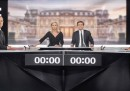 Il confronto tv tra Hollande e Sarkozy