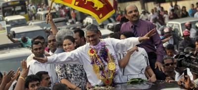 Lo Sri Lanka ha scarcerato Sarath Fonseka