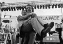 La storia della foto di Benigni e Berlinguer