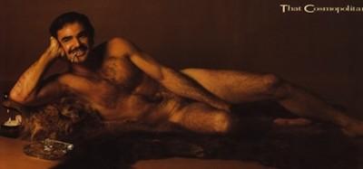 Il primo paginone con un uomo nudo