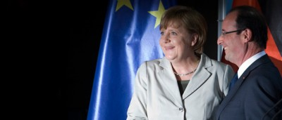 Merkel e Hollande a Berlino, ieri