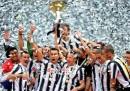Le foto della festa della Juventus a Torino