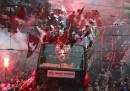 La festa dei tifosi del Torino per la promozione in serie A