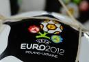 La classifica dei gironi degli Europei