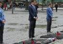 La nazionale tedesca ad Auschwitz