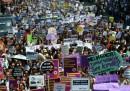 La protesta delle donne in Turchia