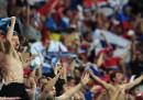 I tifosi russi aggrediscono gli addetti alla sicurezza a Breslavia