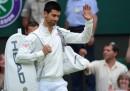 Lo scherzo di Djokovic a Wimbledon