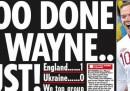 Le prime pagine dei giornali inglesi