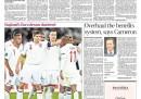 Le prime pagine dei giornali inglesi su Italia-Inghilterra