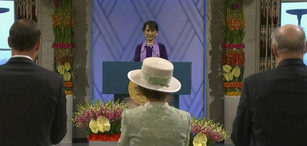 Il discorso di Aung San Suu Kyi per il Nobel - Il Post