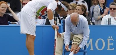 Il tennista David Nalbandian ferisce un giudice di linea