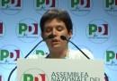 L'assemblea dei circoli del PD a Roma, in streaming