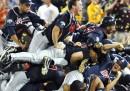 Le foto della finale del baseball dei college americani