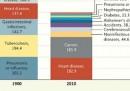 Le cause di morte, nel 1900 e oggi