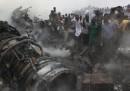L'incidente aereo in Nigeria