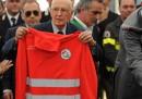 Terremoto, la visita di Napolitano in Emilia