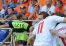 Olanda-Danimarca 0-1