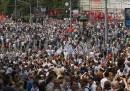 La manifestazione di oggi a Mosca