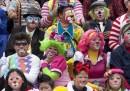 La sfilata dei clown in Guatemala