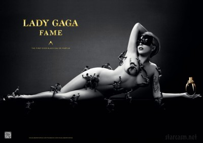 Lady Gaga sulla campagna pubblicitaria di un profumo