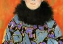 Ritratto di Johanna Staude, 1917-1918, olio su tela (incompiuto)