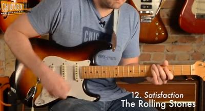 La storia del rock in 100 riff di chitarra