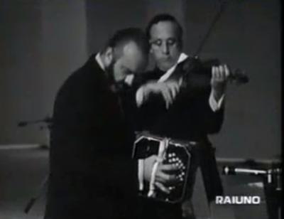 Astor Piazzolla ospite alla Rai, nel 1972