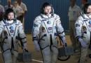 La partenza della Soyuz