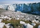 La mappa del disgelo anomalo in Groenlandia