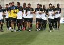 Gli allenamenti della Juventus