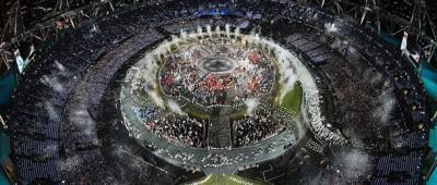 La cerimonia di apertura di Londra