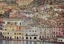 Malcesine, sul lago di Garda, 1913, olio su tela