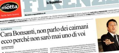 Renzi contro l'antiberlusconismo
