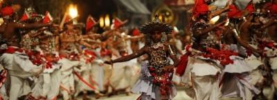 Una festa buddista in Sri Lanka