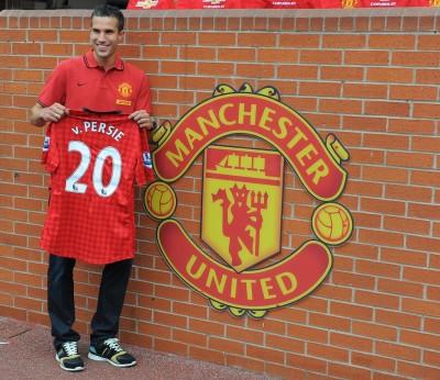 Van Persie presentato dal Manchester United