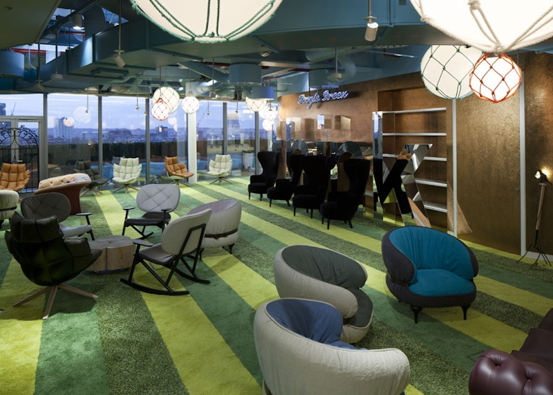 Gli uffici di google a londra il post - Immagini di uffici ...