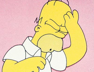"""Da dove viene il """"D'oh!"""" di Homer Simpson"""