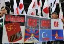 Attivisti giapponesi vogliono raggiungere le Senkaku