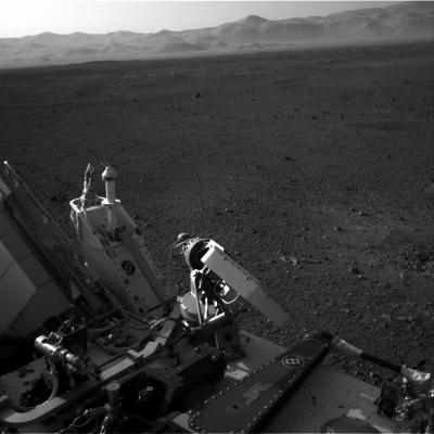 Foto Curiosity su Marte 1