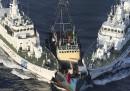 Giappone e Cina litigano per le Senkaku
